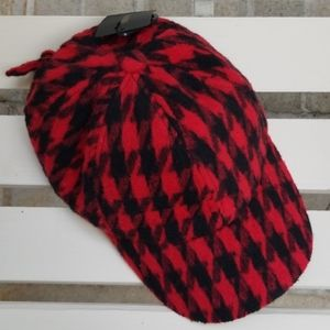 Forever 21 Buffalo Plaid Baseball Cap